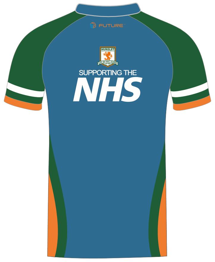 NHS fundraising training shirt