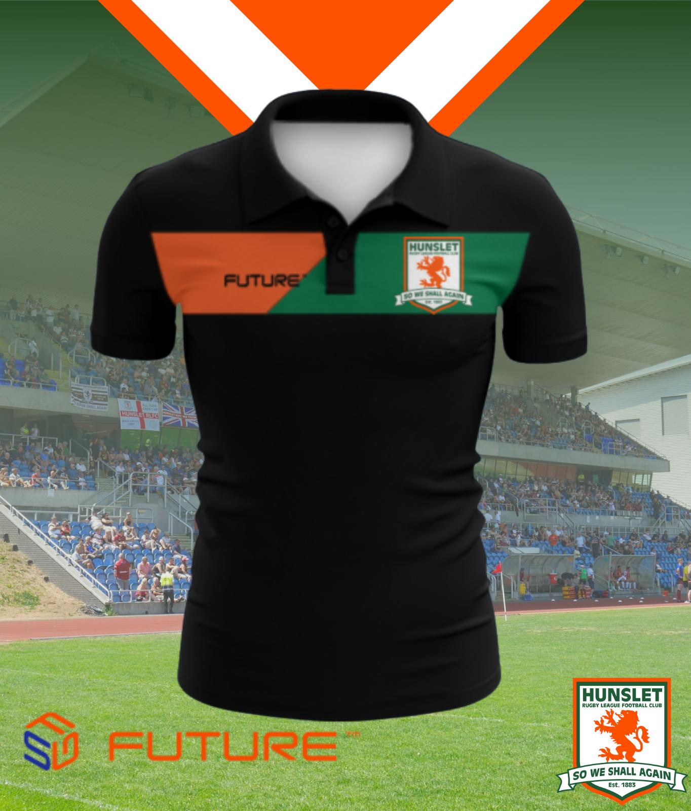 Future Polo Shirt - Black