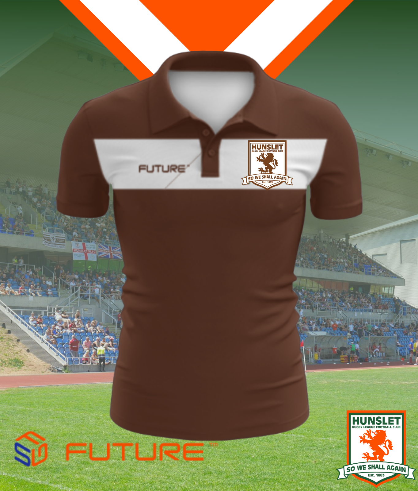 Future Polo Shirt - Chocolate