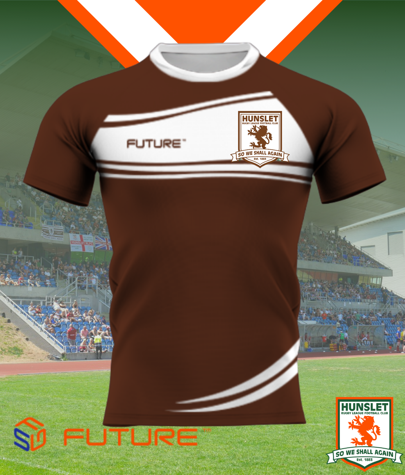 Future Training Shirt - Chocolate