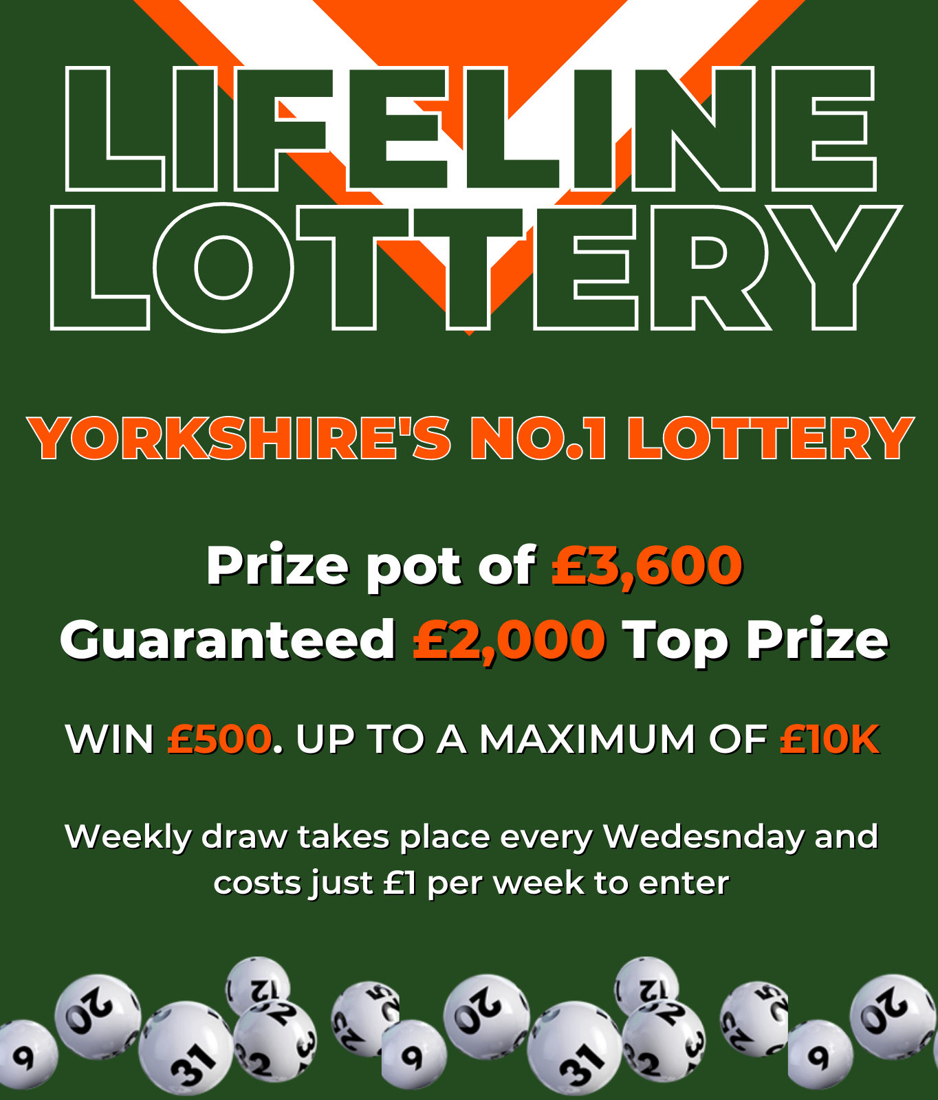 Lifeline Lottery (One Number)